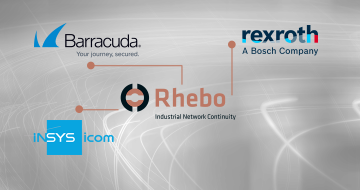 Rhebo Integration Barracuda, Bosch Rexroth, Insys icom
